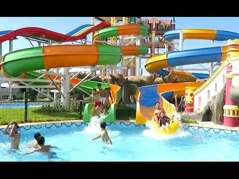 Grand Phnom Penh Water Park - Fantastic Water World in Phnom Penh City