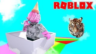 999.999.999 METRE RAINBOW SLIDE IN ROBLOX