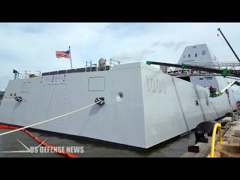 Here's an inside look at the U.S. Navy newest high-tech destroyer ship