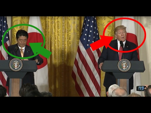 Trump Speaks Japanese? Refuses to wear earpiece during press conference