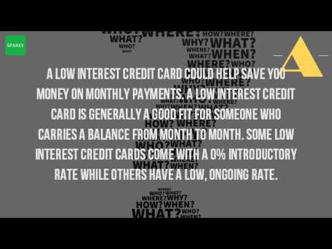 What Is The Credit Card With The Lowest Interest Rate
