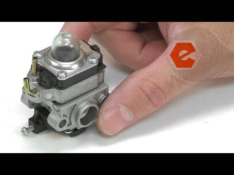 Troy-Bilt Trimmer Repair - Replacing the Carburetor (Troy-Bilt Part # 753-05251)