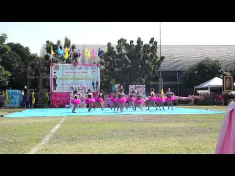 งานแข่งขันกีฬาสีสัมพันธ์ ครั้งที่ 7 ศรีวัฒนาบริหารธุรกิจ สีชมพู-บ่าย (อันดับ 3 ผู้นำเชียร์)