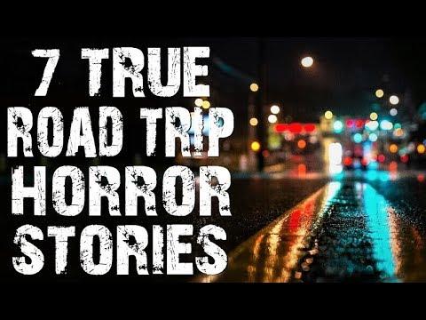 7 TRUE Creepy & Disturbing Road Trip & Driving Horror Stories | (Scary Stories)