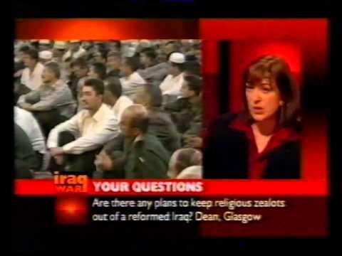 BBC News 24 Special: Iraq War - 4th April 2003 (incomplete)