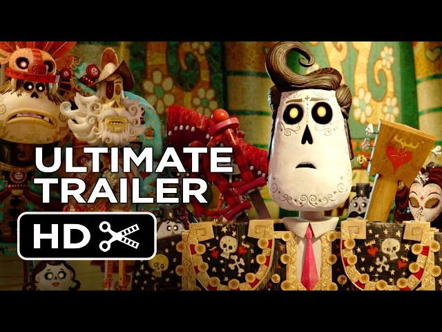 The Book of Life Ultimate Trailer (2014) - Zoe Saldana Animated Movie HD