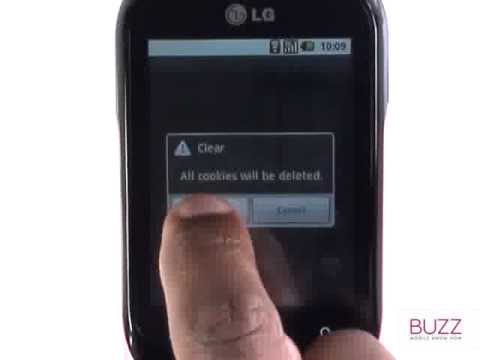 Clearing Cache & Cookies |LG Optimus Chat | The Human Manual