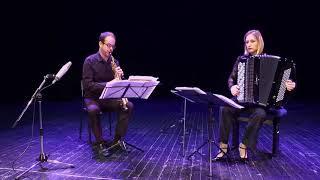 Marie-Andrée Joerger, accordion – Philippe Koerper, saxophones