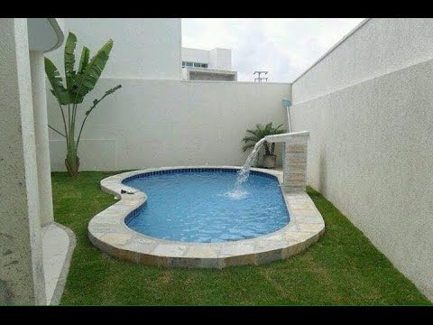 Small swimming pool designs ideas youtube for Small swimming pool design