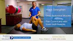 4 Exercises For Lower Back Pain Relief | Florida Spine Specialists