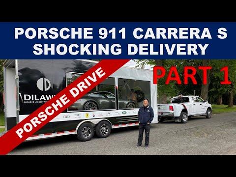 Porsche 911 DELIVERED TODAY - PART OF PORSCHE'S NEW SUBSCRIPTION PROGRAM CALLED PORSCHE DRIVE