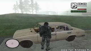 GTA San Andreas Чернобыль Зона Припять   Demo version   Global Mods