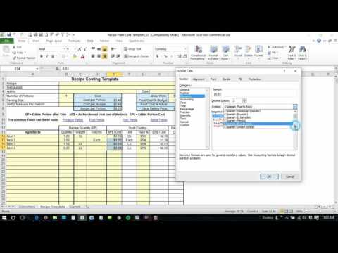 Change Currency in Excel