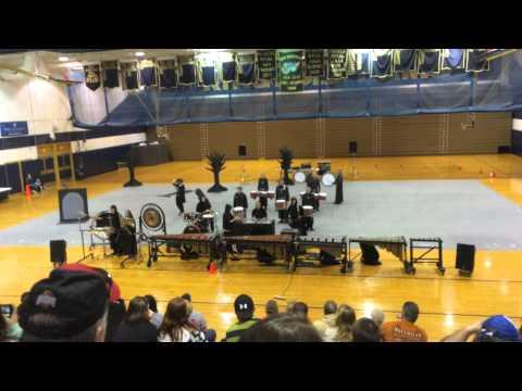 Poca High School Band Indoor Percussion 2015