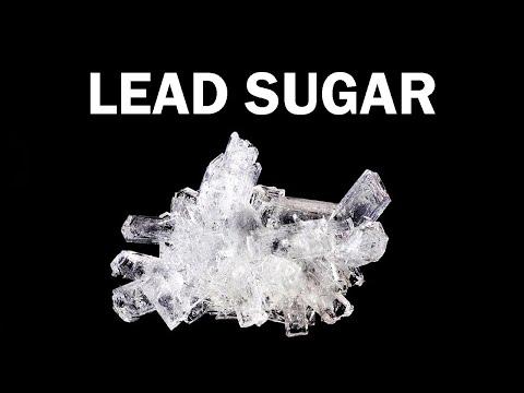 Making Sugar of Lead