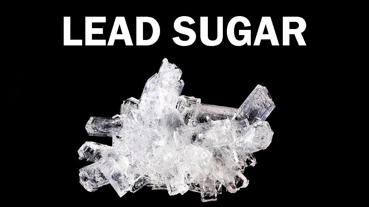 Making Sugar of Lead
