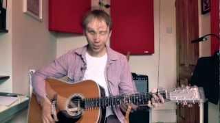 18. An Easy 12 Bar Blues. Beginner's Guitar Lesson.