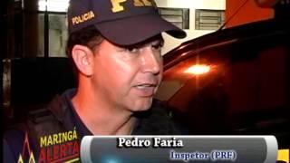 MOTOCICLISTA BATE NA TRAZEIRA DE CARRO NA AV COLOMBO PROXIMO A TUIUTI EM MGÁ