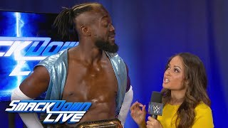 Kofi Kingston vows to topple Samoa Joe at Extreme Rules: SmackDown LIVE, July 9, 2019