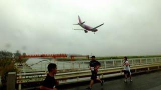 第2回 パラカップ仙台 in 仙台空港 ランナーと旅客機 その2