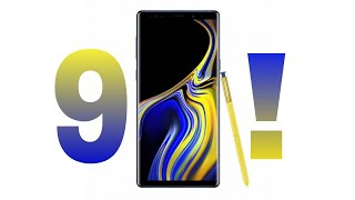 Samsung Galaxy Note 9 Full review