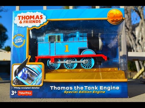 Thomas The Tank Engine Special Edition Engine - Mattel Toy Train 70th Anniversary Review