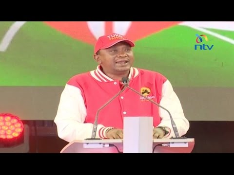 President Uhuru Kenyatta's speech at the Jubilee party membership card launch