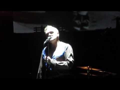Morrissey Live 2014 Boston Opera House Asleep Encore (The Smiths)