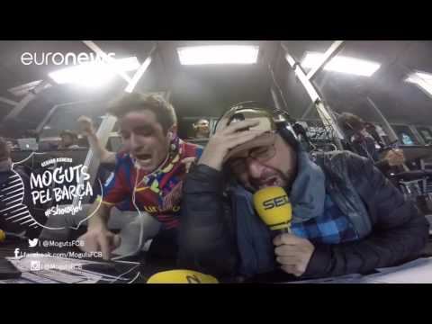 Watch radio host's euphoric reaction to Barcelona comeback