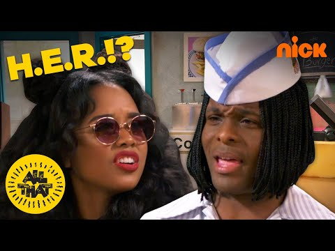 Garrison King - H.E.R. Pulls Up to Good Burger on 'All That'
