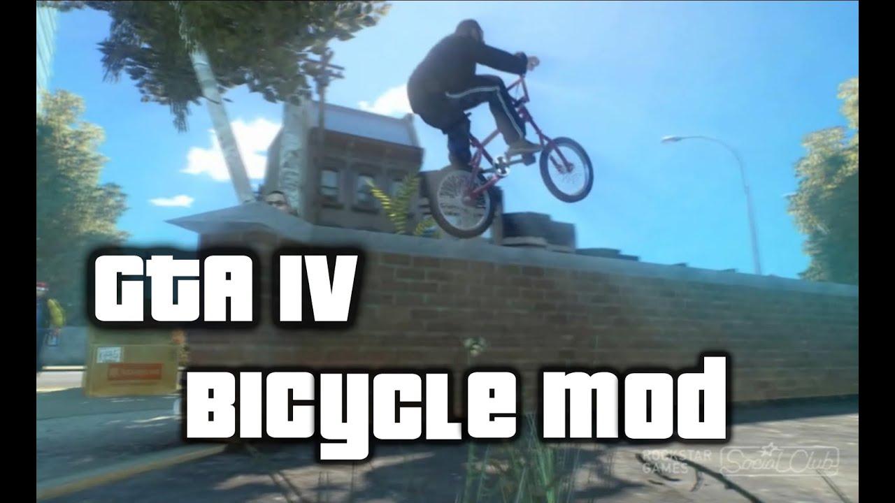 GTA X Scripting: GTA IV Bicycle script mod
