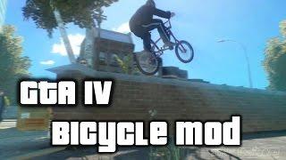 GTA IV Bicycle script mod