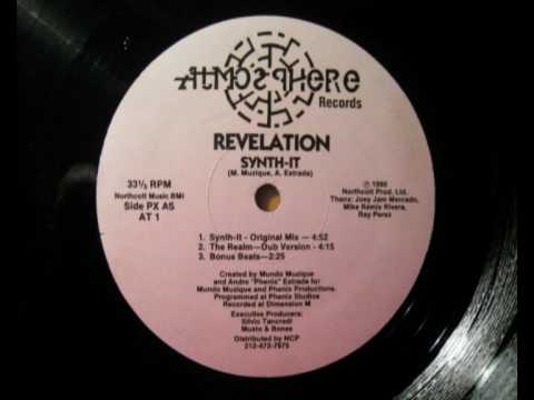 REVELATION SYNTH IT ATMOSPHERE 1990 USA