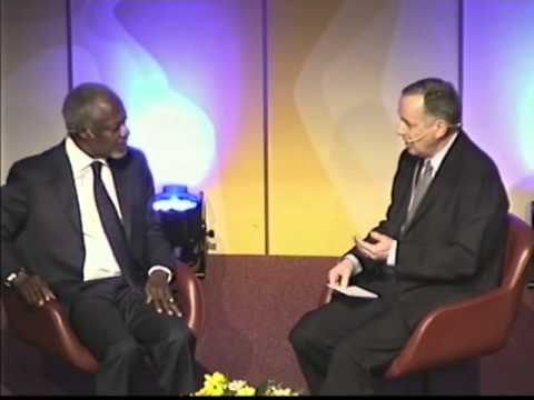 Conversation with Kofi Annan