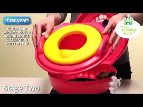 Disney The First Years Mickey Mouse Clubhouse Celebration Potty System & Disney The First Years Mickey Mouse Clubhouse Celebration Potty ...