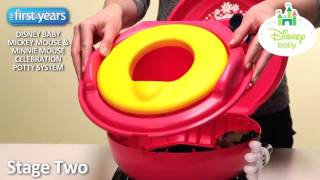 Disney The First Years Mickey Mouse Clubhouse Celebration Potty System