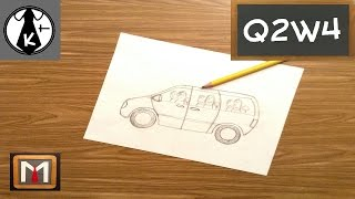 How to Draw a Van