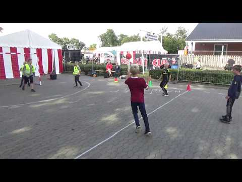 Street Handball Denmark to Children's Day, Bramming Town Fair, parking lot