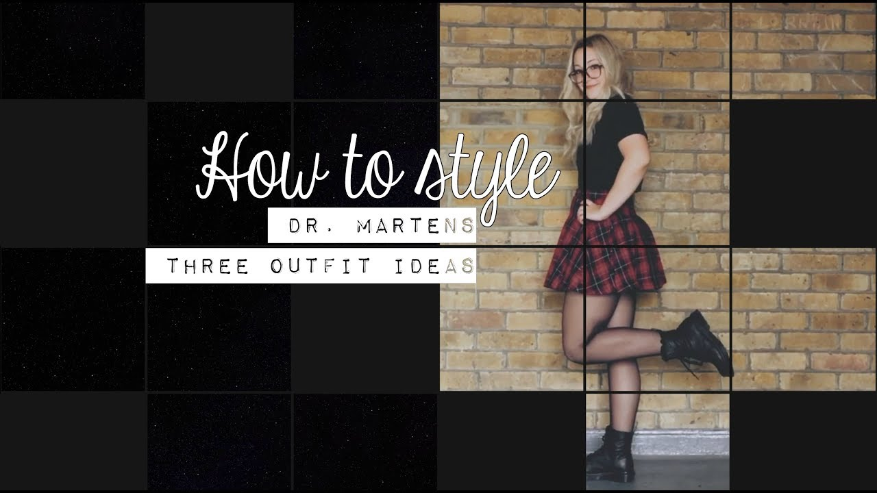[VIDEO] - HOW TO STYLE DR. MARTENS // 3 OUTFIT IDEAS Perfect for the Fall Season (FALL LOOKBOOK) 5