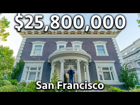 What $25,800,000 Buys You in San Francisco   Mansion Tour