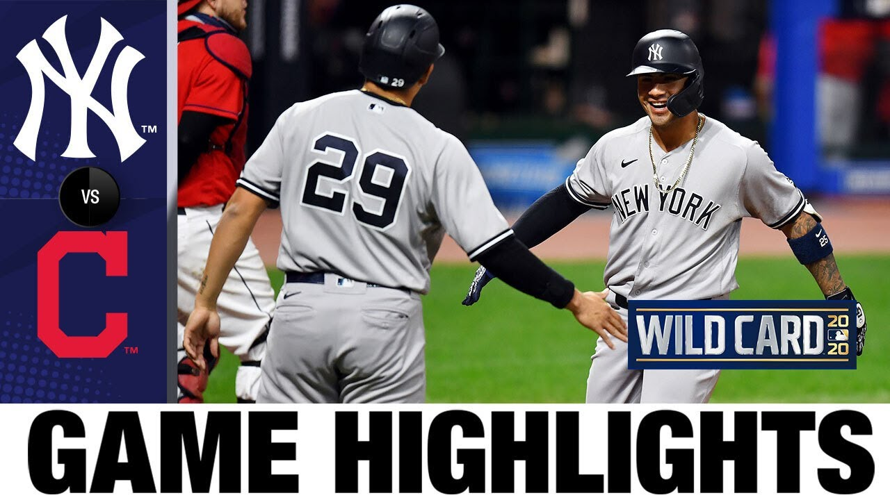 Gerrit Cole and the Yankees' offense shine in Game 1 | Yankees-Indians Game 1 Highlights 9/29/20