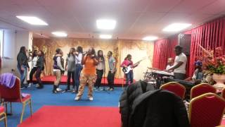 Okamafo Jesus by mtzph choir.... rehearsals