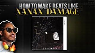 "HOW TO MAKE BEATS LIKE "" XANAX DAMAGE"" FL Studio Tutorial"