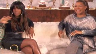 Kelly Rowland on Queen Latifah Show (December 18, 2013)