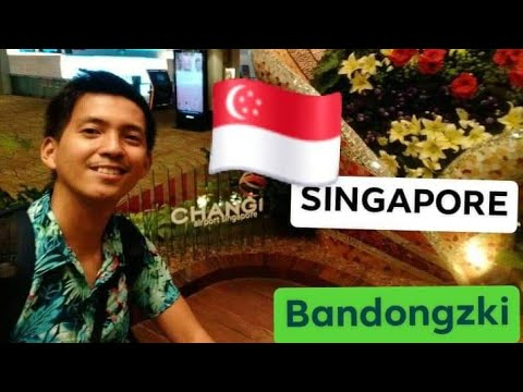 CHANGI AIRPORT SINGAPORE || Connecting Flight VTE-SIN-MNL #OFWtraveller || BANDONGZKI
