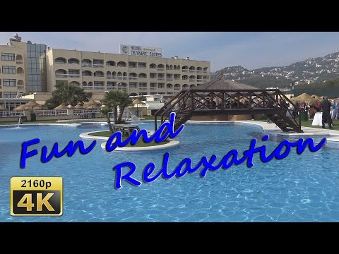 Lloret de Mar,  Hotel Evenia Olympic Park - Spain 4K Travel Channel