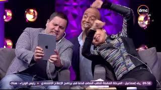 شاهد- نيللي كريم وإدوارد يغنيان من خلال Dubsmash