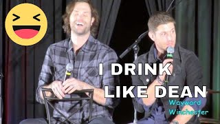 'I can drink like Dean' Jensen On Skills He Learned From Dean For Real Life & Jared LOSES IT!
