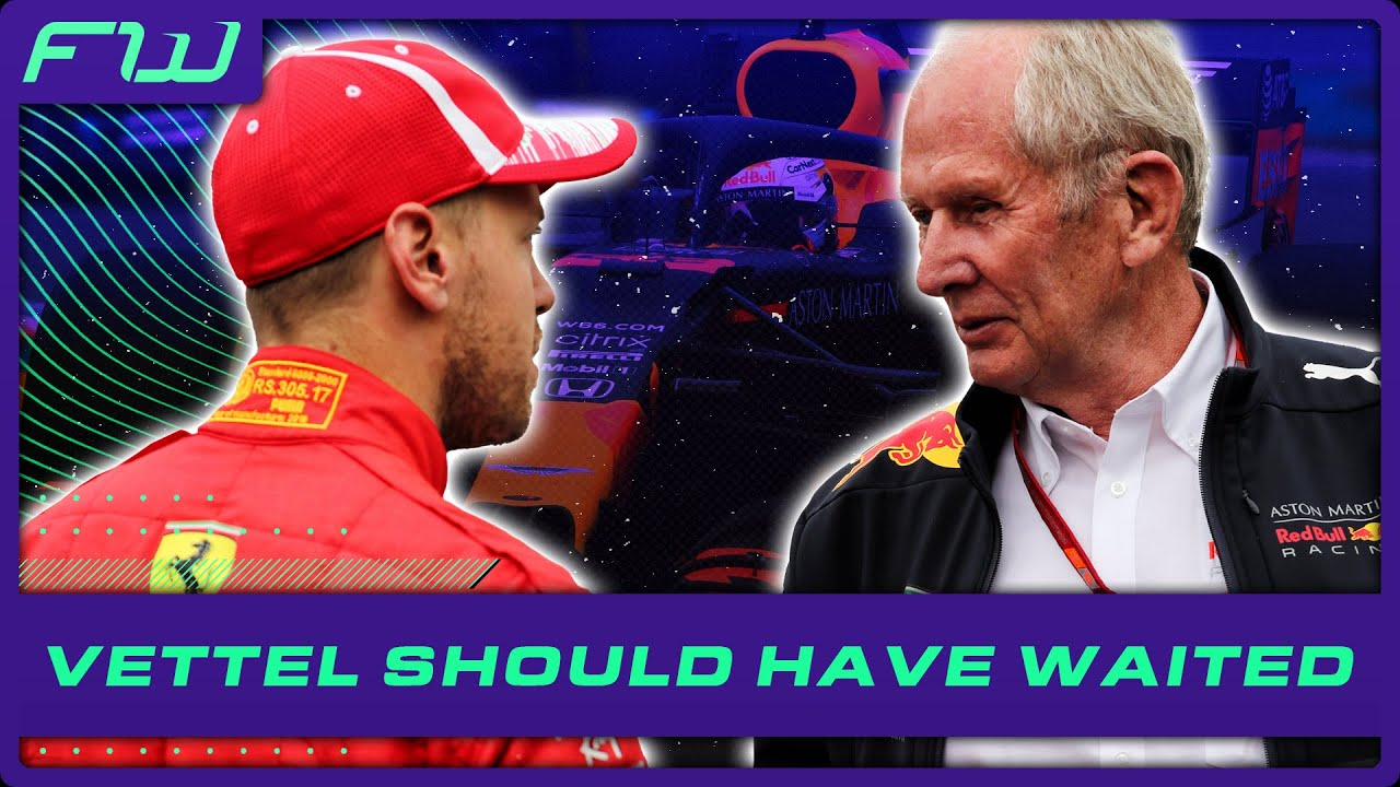 Marko Wanted Vettel To Wait