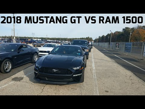 I raced a 2018 Mustang GT in the 1/4 mile!!!